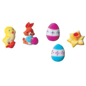 Lucks Deluxe Easter Sugar Decorations
