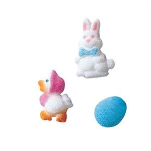 Easter Charms Sugar Decorations