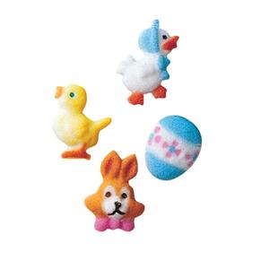 Lucks Easter Mini Assortment Sugar Decorations