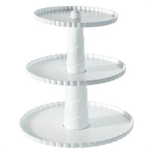 Nordic Ware Party Pedestal 3-Tiered Dessert Stand