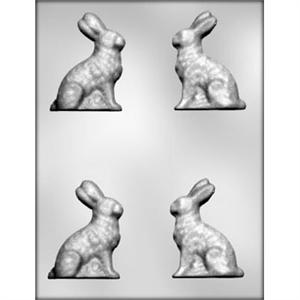 3-in Sitting Bunny 3-D Chocolate Mold