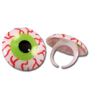 Bakery Crafts Bloodshot Spooky Eyeballs Rings