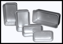 Fat Daddio's Natural Aluminum Loaf Pans
