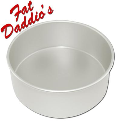Fat Daddio's Round Cake Pans - 3 inches Deep