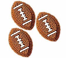Football Icing Decorations