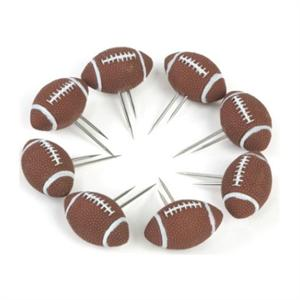 Charcoal Companion Football Corn Holders - 4 Pairs