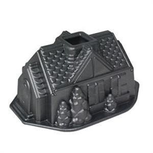 Nordic Ware Platinum Gingerbread House Pan