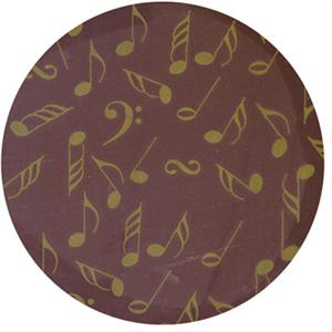 Gold Music Note Transfer Sheet
