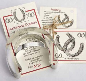 Ann Clark Horseshoe Cookie Cutter