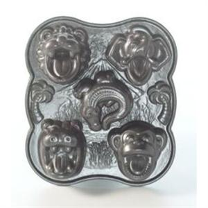 Nordic Ware Pro Cast Hungry Animals Cake Pan