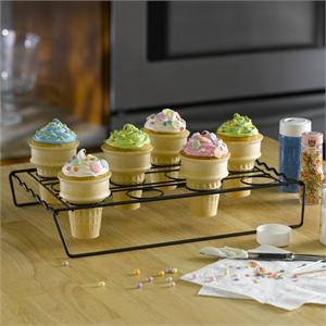 Nifty Home Products Cupcake Cone Baking Rack
