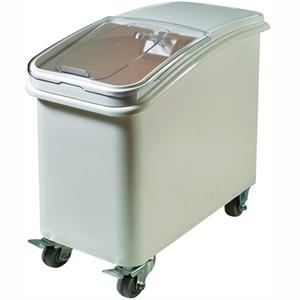 Winco 27 Gallon Ingredient Bin w/Casters
