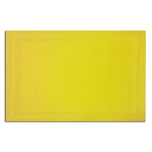 Pacific Merchants 17-in x 12-in Woven Placemat, Lemon Yellow
