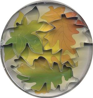 Fox Run Leaf Assortment Cutter Set 3-Pc