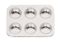 TBK 6 Cup Large Muffin Pan