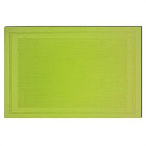 Pacific Merchants 17-in x 12-in Woven Placemat, Lime