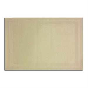Pacific Merchants 17-in x 12-in Woven Placemat, Linen