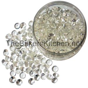 Medium Edible Diamonds 9/16 Inch Diameter-224 per pkg.