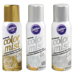 Metallic Color Mist Food Spray