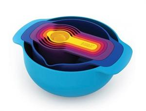 Nest 7 Plus Compact 7 Piece Mixing Bowl-Measuring Set