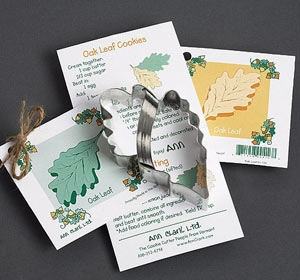 Ann Clark Oak Leaf Cookie Cutter
