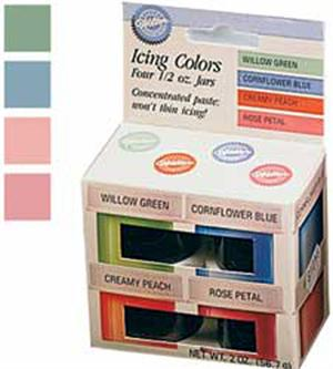 Wilton Pastel 4 Icing Colors Set