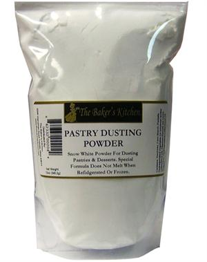 TBK Snow White Pastry Dusting Powder - 12 Ounce Bag