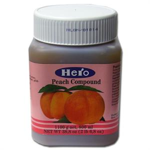 Hero Peach Fruit Compound - 2.68 Pounds