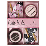 French Poodles Cupcake Kit