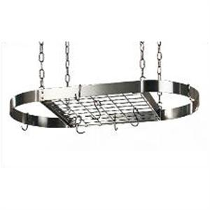 Rogar Large Oval Pot Racks With Grid