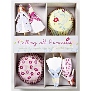 Pretty Princesses Cupcake Kit