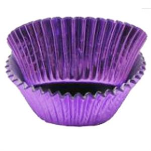 Purple Foil Standard Baking Cups