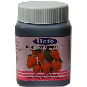 Hero Raspberry Fruit Compound - 2.68 Pounds