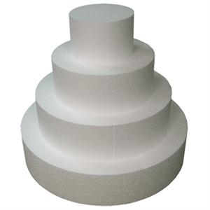 TBK Round Cake Dummies 4 Inches High