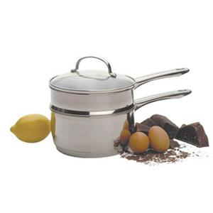 RSVP 2 Quart Stainless Steel Double Boiler