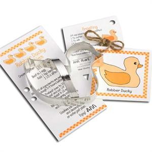 Ann Clark Rubber Ducky Cookie Cutter