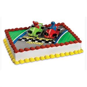 Bakery Crafts Sesame Street Racers Cake Kit
