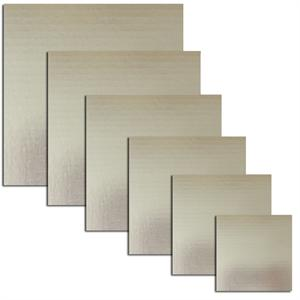 TBK Silver Square Cake Boards