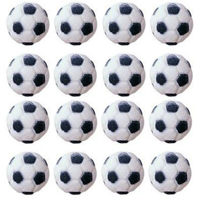 Lucks Soccer Ball Sugar Decorations