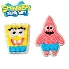 Spongebob Squarepants Icing Decorations