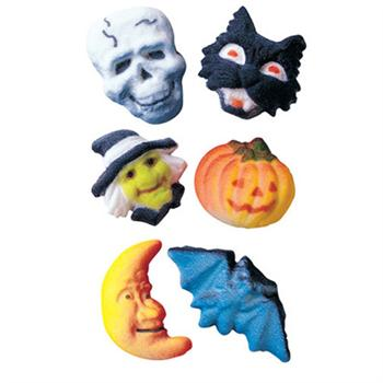 Lucks Deluxe Halloween Assortment Sugar Decorations