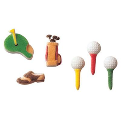 Lucks Golf Assortment Sugar Decorations
