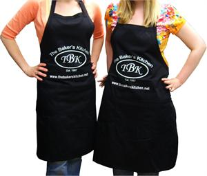 TBK Solid Color Black Apron
