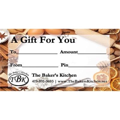 TBK Electronic Gift Certificate