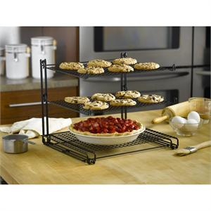 Nifty Home Products Triple-Tier Non-Stick Cooling Rack