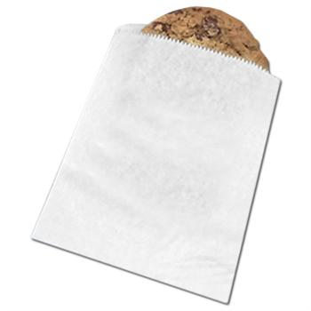 Modpac Grease Proof White Cookie Bags