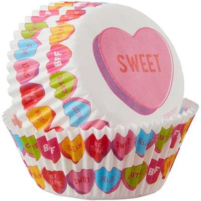 Wilton Conversation Hearts Bake cups