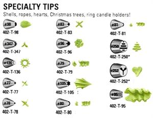 Specialty Decorating Tips (sold Individually)