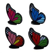 Kizmos Large Butterfly Bag Clips, Set of 4