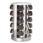 Kamenstein 20 Jar Filled Revolving S/S Spice Tower